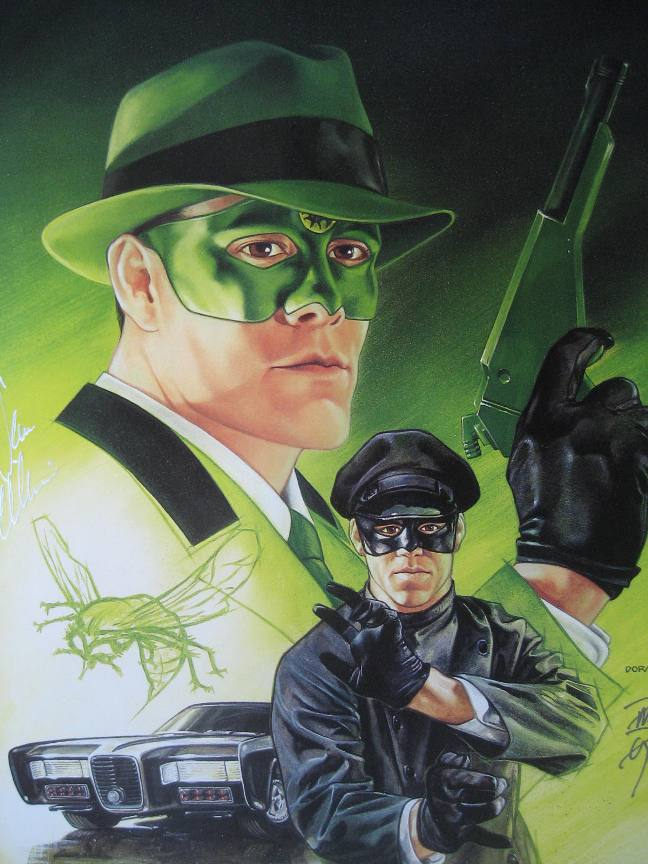 The Green Hornet Art Dave Dorman