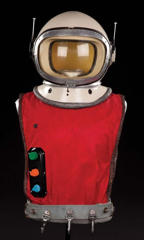 ORIGINAL GUY WILLIAMS SPACESUIT & HELMET