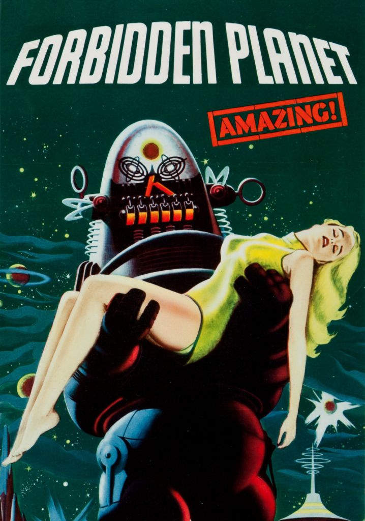 forbidden planet promotional posters