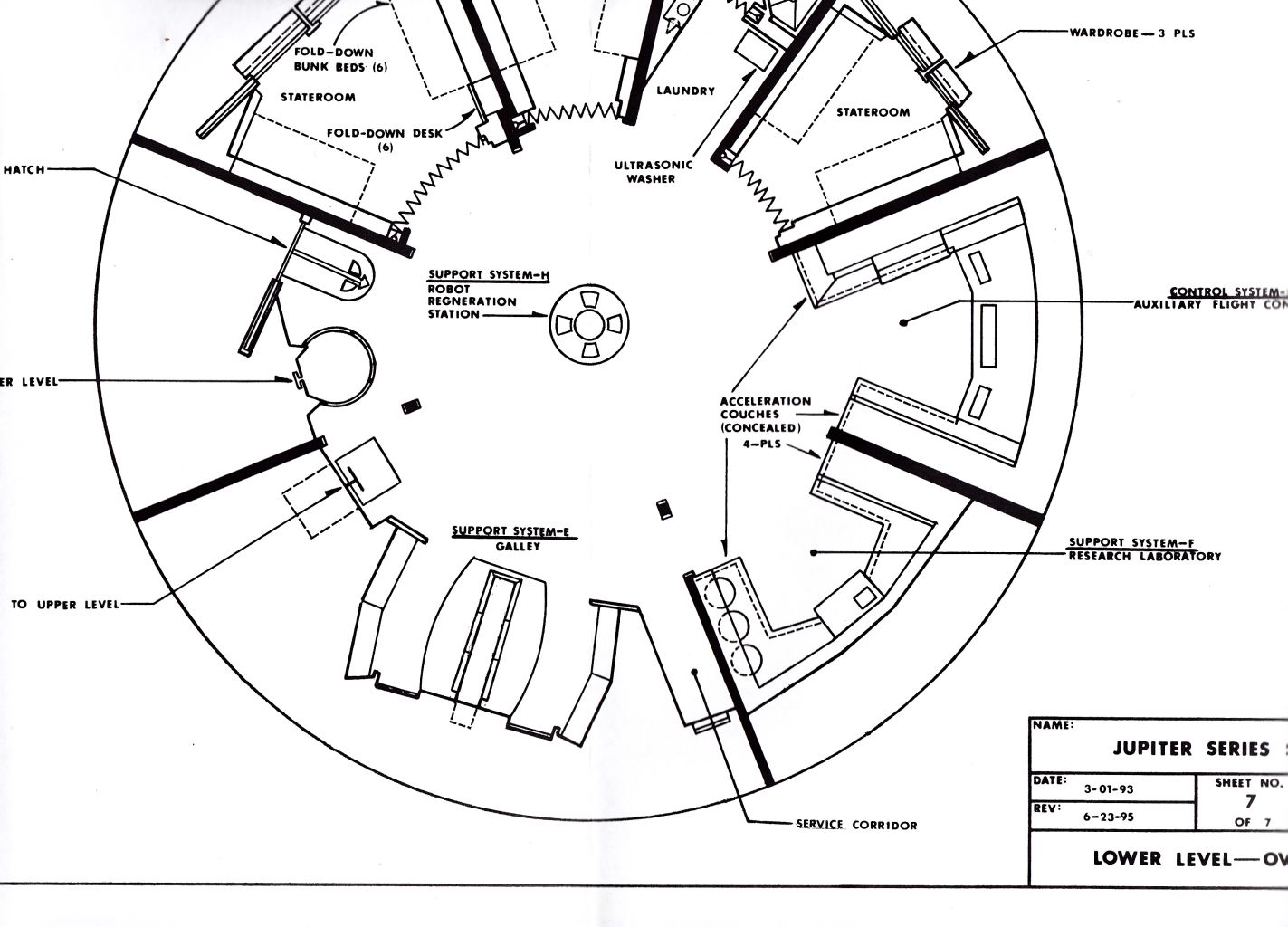 jupiter 2 blueprints and diagrams